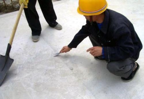 屋面防水基层清理